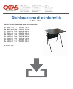 Zertifikat CATAS EN 1730 Pitagora