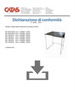Zertifikat CATAS EN 1730 Galileo