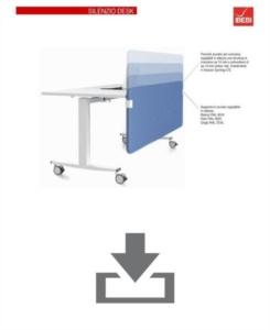 Technisches Datenblatt Silenzio desk