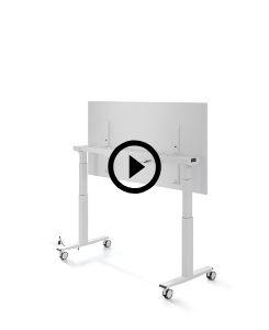 Telemaco Tisch mit beschreiber Tischplatte