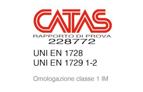 CATAS Zertifikate fur Rover Stühl