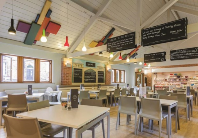 Hoth Stuhlen im Restaurant in England