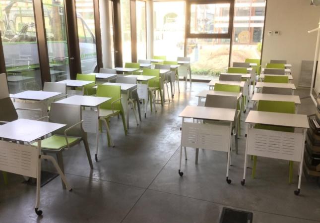 Ausbildungsraum mit Pitagora Tisch