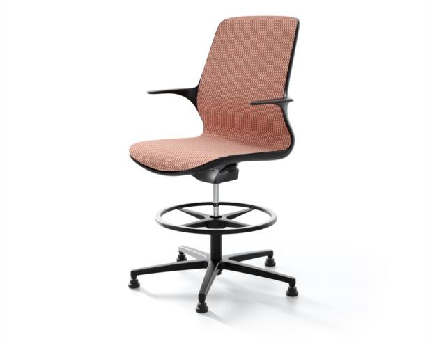 Höhenverstellbarer Stuhl Palladio für Büro
